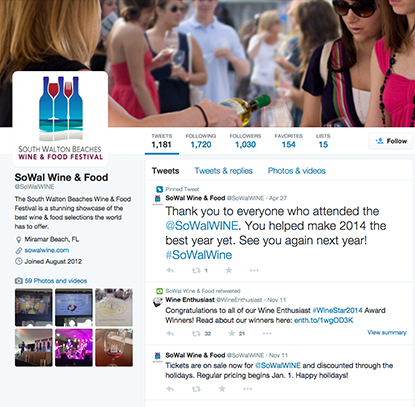 Social Media South Walton